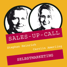 Laden Sie das Bild in den Galerie-Viewer, Selbstmarketing - Sales-up-Call - Stephan Heinrich
