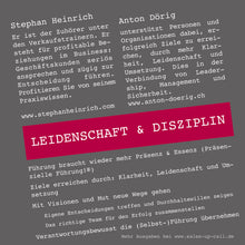 Laden Sie das Bild in den Galerie-Viewer, Leidenschaft & Disziplin - Sales-up-Call - Stephan Heinrich