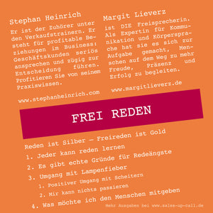 Frei Reden - Sales-up-Call - Stephan Heinrich