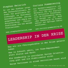 Laden Sie das Bild in den Galerie-Viewer, Leadership in der Krise - Sales-up-Call - Stephan Heinrich