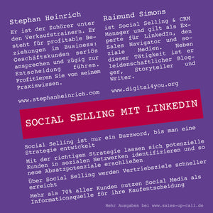 Social Selling mit LinkedIn - Sales-up-Call - Stephan Heinrich