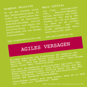 Agiles Versagen - Sales-up-Call - Stephan Heinrich