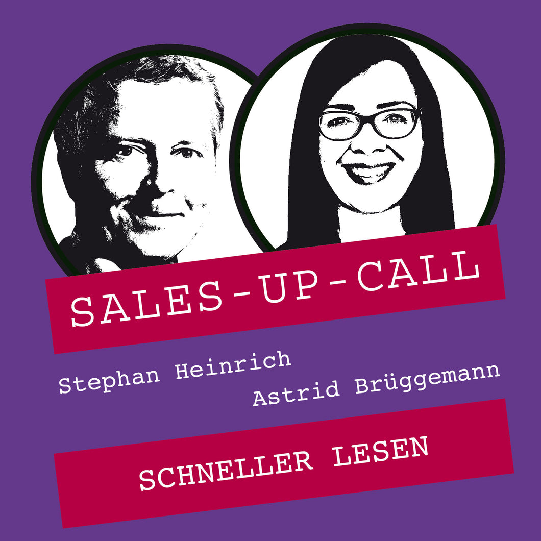 Schneller Lesen - Sales-up-Call - Stephan Heinrich