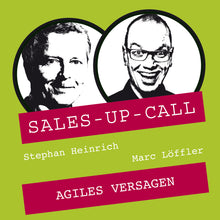 Laden Sie das Bild in den Galerie-Viewer, Agiles Versagen - Sales-up-Call - Stephan Heinrich