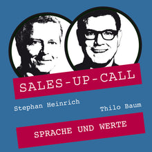 Laden Sie das Bild in den Galerie-Viewer, Sprache und Werte - Sales-up-Call - Stephan Heinrich