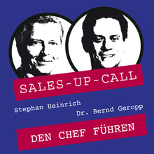 Laden Sie das Bild in den Galerie-Viewer, Den Chef führen - Sales-up-Call - Stephan Heinrich