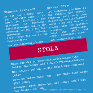 Stolz - Sales-up-Call - Stephan Heinrich