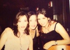 Cristina, Margarita and Carmen some years ago!