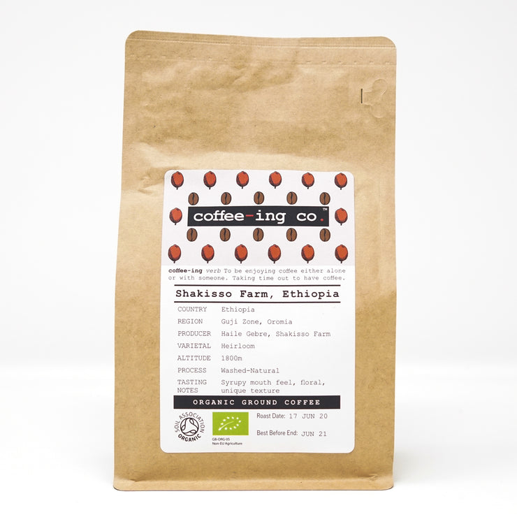 Ethiopia Guji Zone Organic Ground Coffee