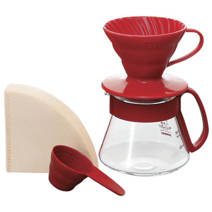 Hario V60 Ceramic Pour Over Set 01