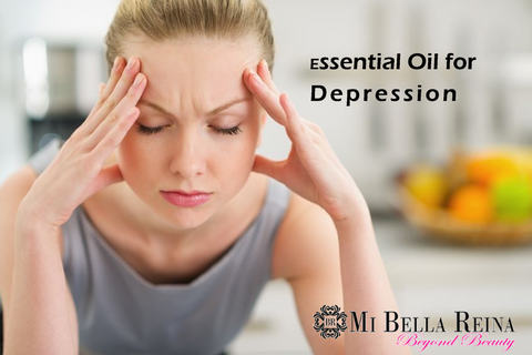 Essential oil for depression