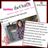 Bella Reina Cosmetics Vegan Lipstick in People Style Watch