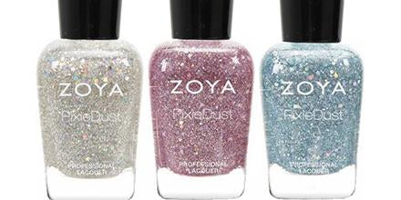 Zoya Creates Spectacular Magical Pixie Dust with this Spring Collection | Magical Pixie 2014