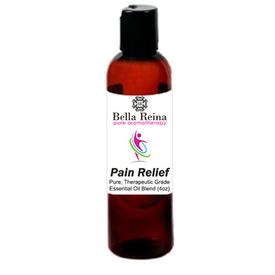 Pain Relief Aromatherapy Body Oil By Bella Reina (4oz)