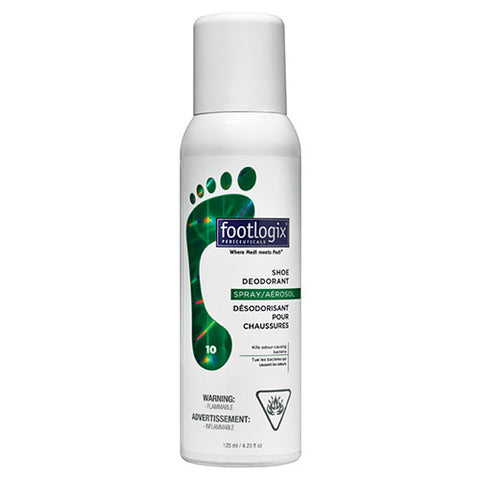 Footlogix® 10 Deodorant Spray for shoes (4.2oz)