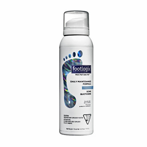 Footlogix® 2 Daily Maintenance Mousse Formula (4.2oz)