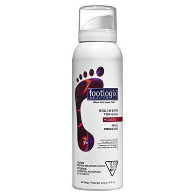Footlogix® 7+ Rough Skin Anti-fungal Formula Mousse (4.2oz)