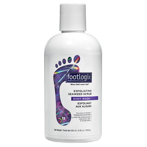 Footlogix® 15 Exfoliating Seaweed Scrub Body Wash (8.45oz)