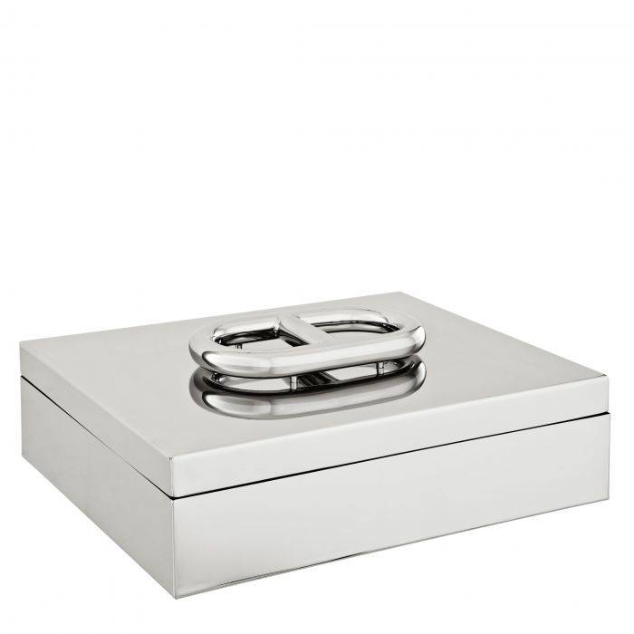 Polished stainless steal box