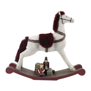 Decorative rocking horse 37cm