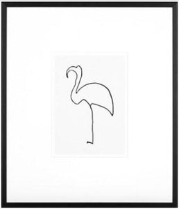 P. Picasso : Le Flamand Rose