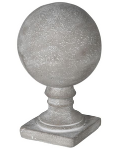 Cement Ball Finial