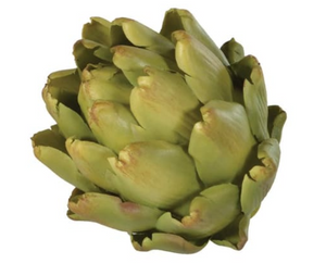 Green Artichoke Head