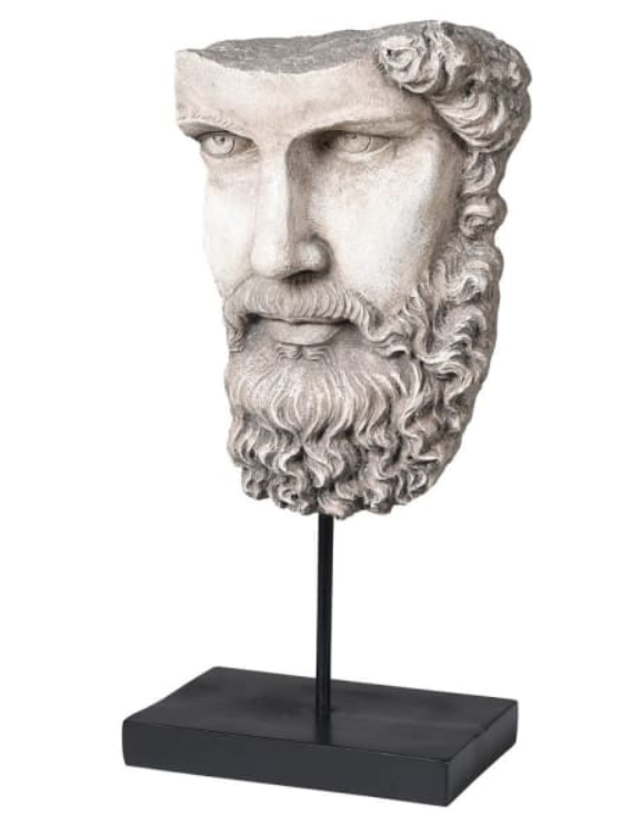 Socrates Head On Base