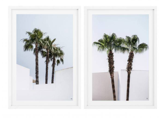 Palm Trees Set of 2