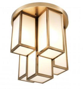 Axel Ceiling Lamp Antique Brass