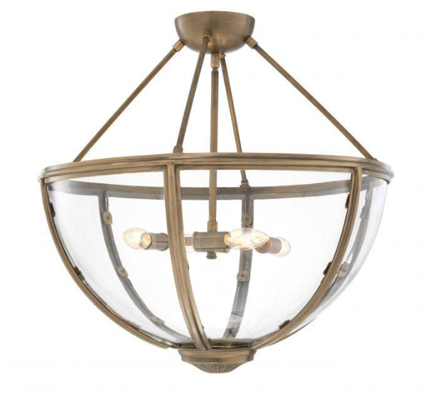 Deveraux Ceiling Lamp Brass