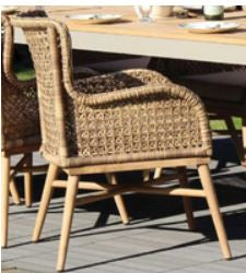 Madagascat Outdoor Dining Chair