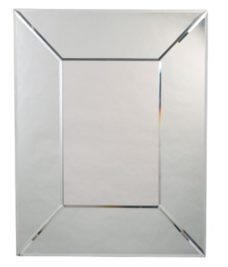 Wide Framed Mirror