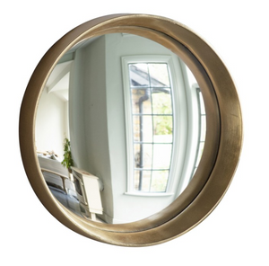 Convex Mirror Gold Large