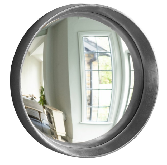 Convex Mirror Silver Large
