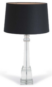 Alita Crystal Square Column Lamp (base only)