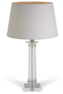 Delanna Crystal Tall Column Lamp (base only)