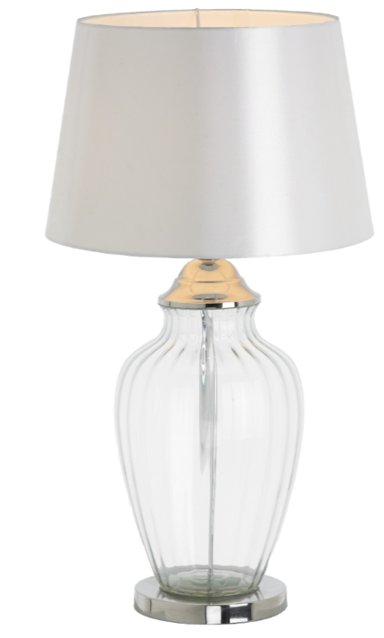 Caballo Glass Table Lamp