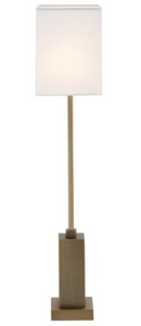 Herta Antique Brass Finish Table Lamp
