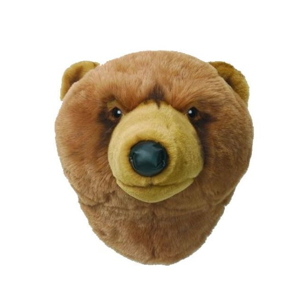 Animal Head bear light brown Oliver