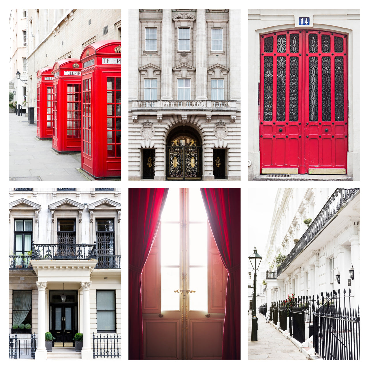 LONDON RED | Gallery Wall Bundle