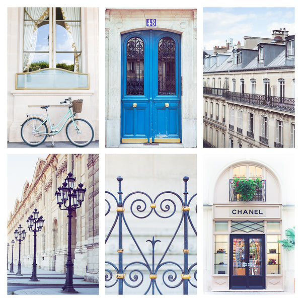 PARIS BLUE | Gallery Wall Bundle