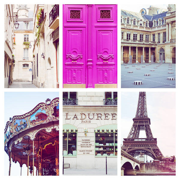 PARIS PINK | Gallery Wall Bundle
