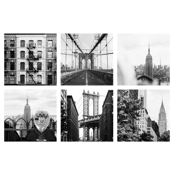 NYC SQUARE B&W | Gallery Wall Bundle