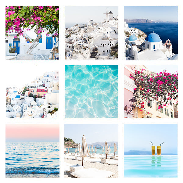 GREECE PRINT PACK | 5x5