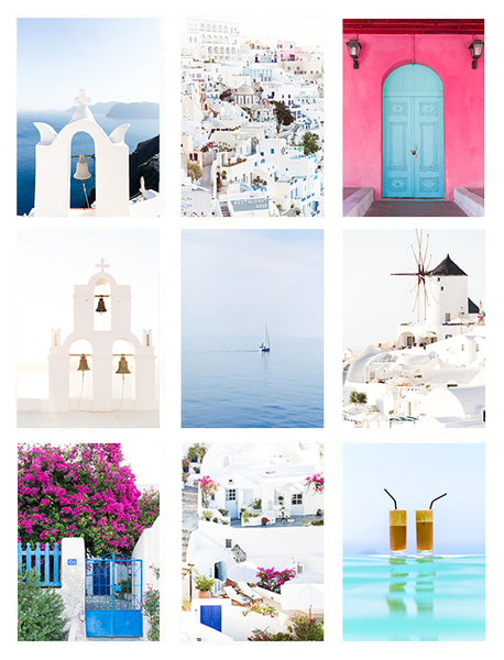 GREECE PRINT PACK BOLD | 5x7