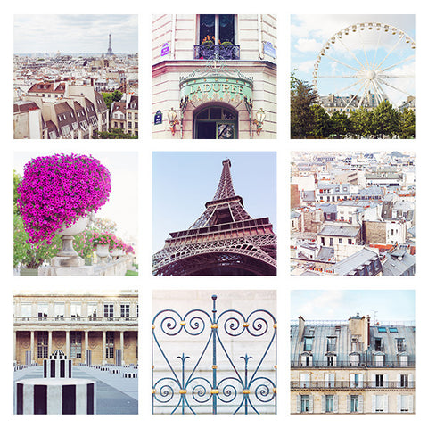 PARIS PRINT PACK | 5x5