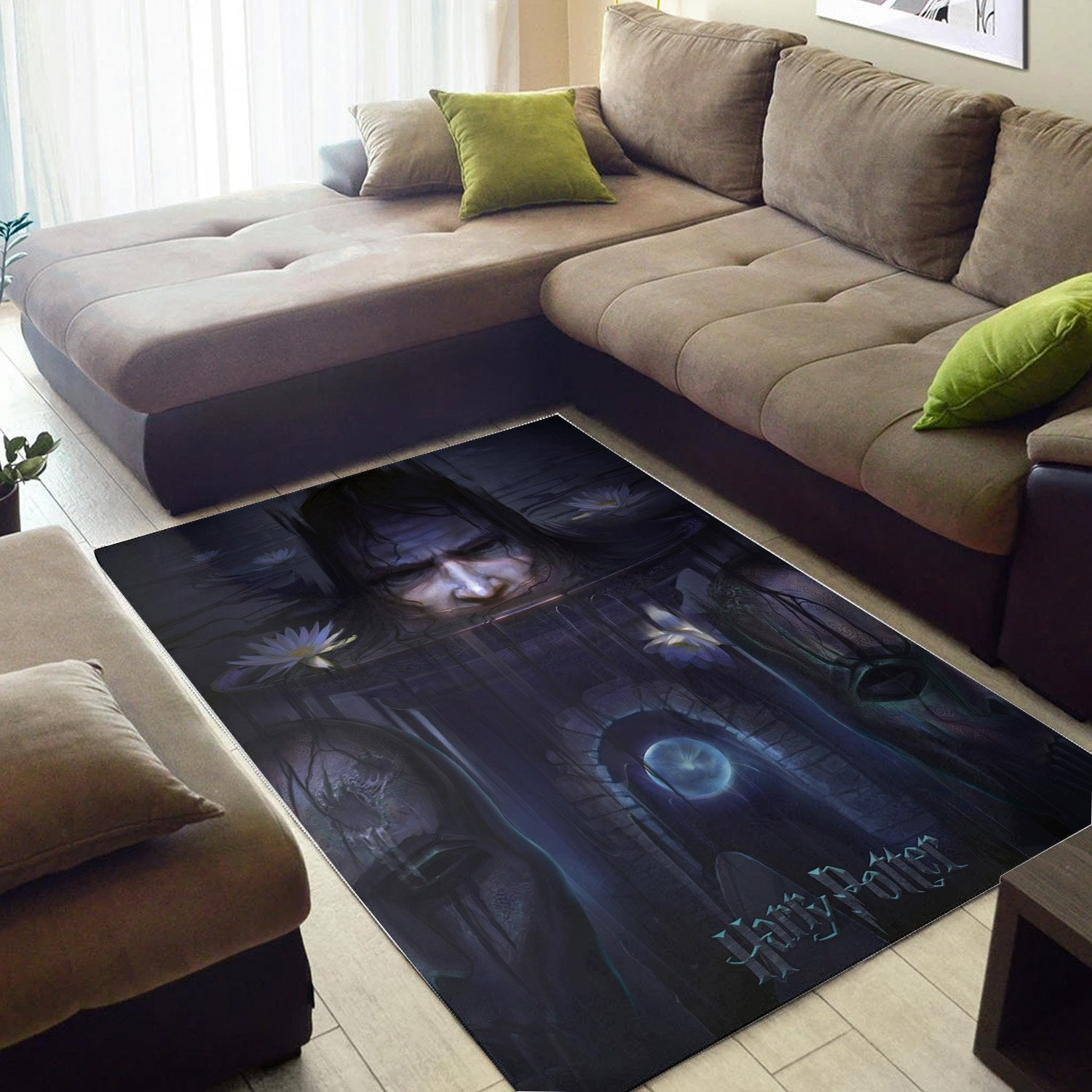 Scary Potter And The Order Of The Phoenix Rug, Area Rug, Floor Decor