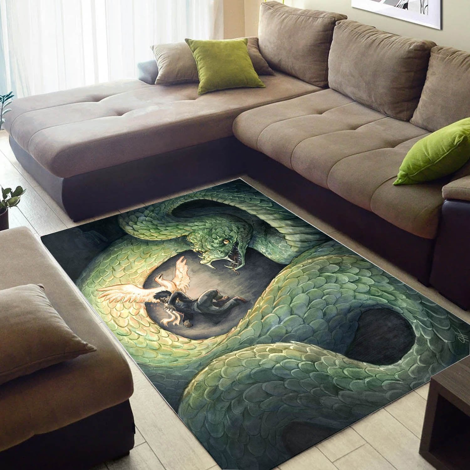 The Chamber Of Secrets Rug, Area Rug, Floor Decor