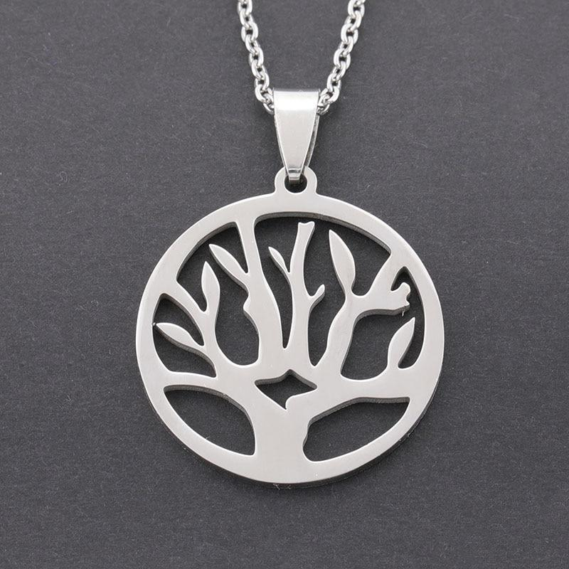 Classic Silver Tree of Life Necklace